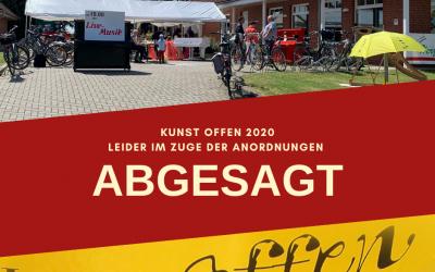 +++ ABGESAGT +++ Kunst offen 2020